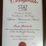 issa baluch lifetime achievement award