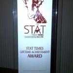 issa baluch stat times lifetime achievement award