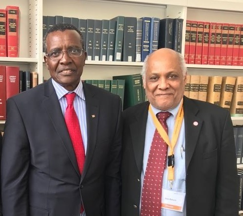 ISSA BALUCH   Prof  Issa Baluch with Chief Justice & President of